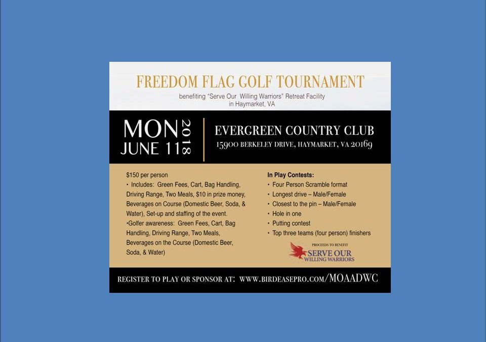 Freedom Flag Golf Tournament